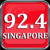 FM Radio 92.4 FM Singapore 92.4 FM Radio Radio App icon