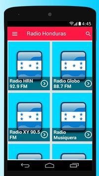Honduras Radio Stations Free Apps Player Music poster