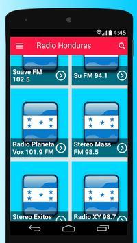 Honduras Radio Stations Free Apps Player Music screenshot 1