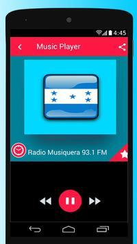 Honduras Radio Stations Free Apps Player Music screenshot 3