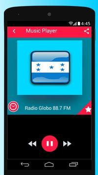 Honduras Radio Stations Free Apps Player Music screenshot 4