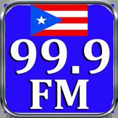 Radio 99.9 Radio FM San Juan 99.9 FM Radio App FM icon