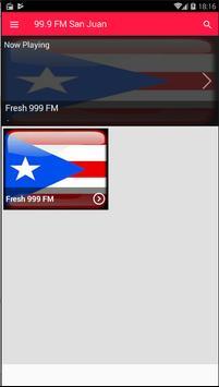 Radio 99.9 Radio FM San Juan 99.9 FM Radio App FM screenshot 2