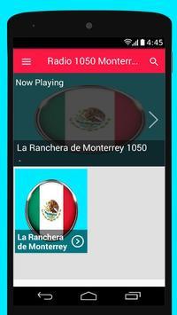 Radio AM 1050 Radio Monterrey AM 1050 Musica poster