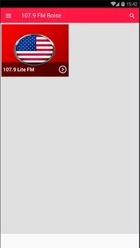 107.9 FM Radio Station Boise Radio 107.9 Radio App poster