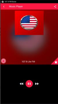 107.9 FM Radio Station Boise Radio 107.9 Radio App screenshot 1