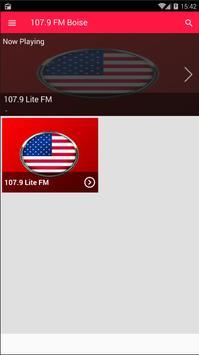 107.9 FM Radio Station Boise Radio 107.9 Radio App screenshot 2