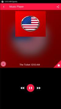 1310 AM Radio AM Sports Radio 1310 The Ticket screenshot 1