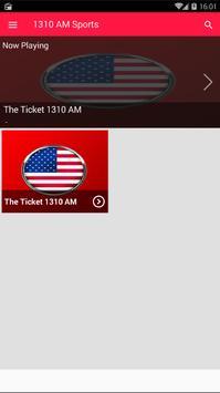 1310 AM Radio AM Sports Radio 1310 The Ticket screenshot 4
