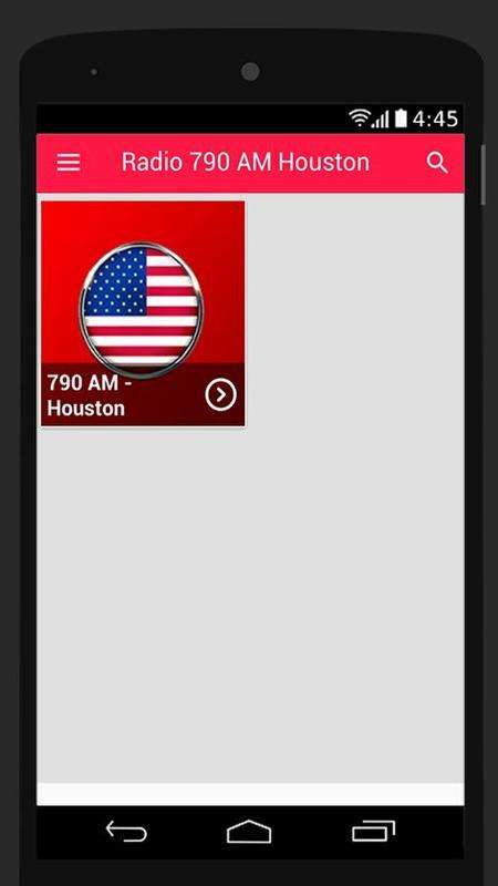 790 AM Radio Houston Stations Free Screenshot 1