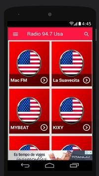 94.7 FM Radio Station Usa Music App 94.7 FM Online poster
