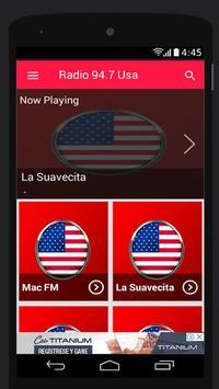 94.7 FM Radio Station Usa Music App 94.7 FM Online screenshot 2
