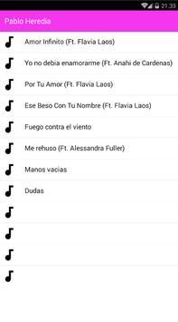 Pablo Heredia Musica screenshot 1