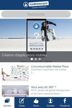 SamWebdesigner apk screenshot