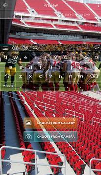 San Francisco 49ers Keyboard apk screenshot
