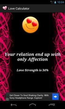 Love/Relation Calculator screenshot 4