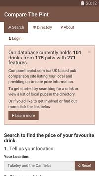 Compare The Pint: Pub Finder poster