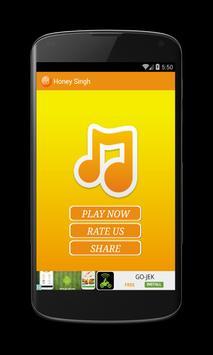 Honey Singh Song poster