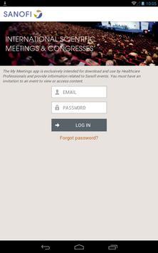 My Meetings apk screenshot