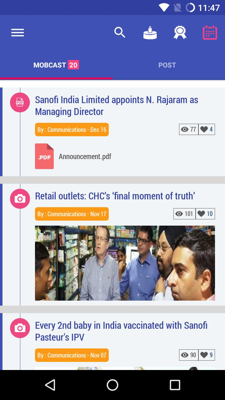 Sanofi India MobCast for Android - APK Download