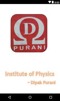 Institute of Physics - Dipak purani poster