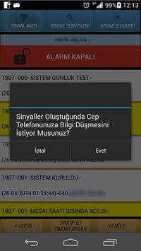 Netgold Alarm Sinyal Takibi apk screenshot