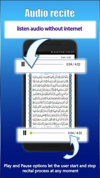 Quran 5 Surah Reading & Listening screenshot 4