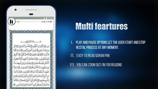 Quran 5 Surah Reading & Listening screenshot 10