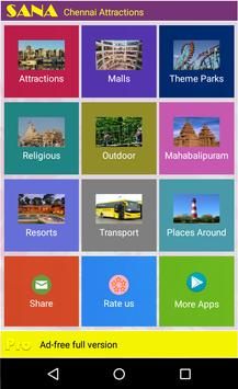 Chennai Attractions poster