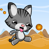 My little jumping cat icon