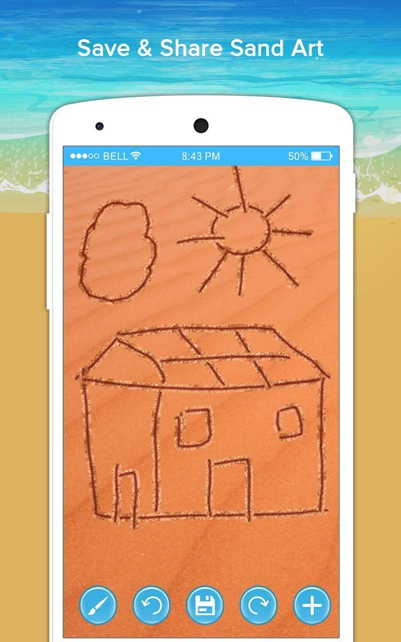 Seni Pasir Sketsa Sketsa Doodle Kreatif For Android APK
