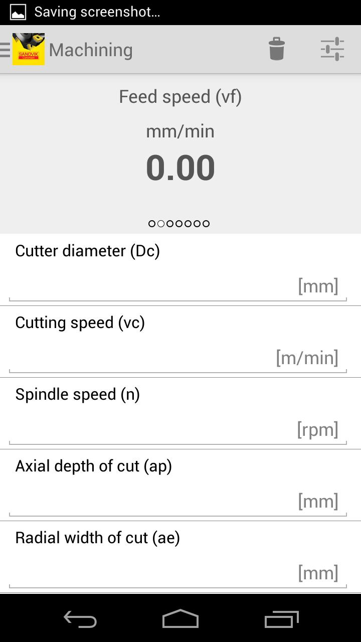 Milling Calculator for Android - APK Download