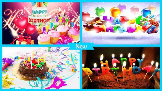Newest Happy Birthday Wallpaper apk screenshot