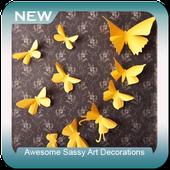 Awesome Sassy Art Decorations icon