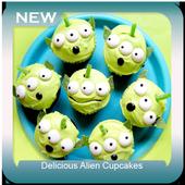 Delicious Alien Cupcakes icon