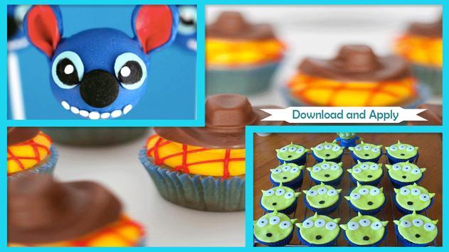 Delicious Alien Cupcakes poster