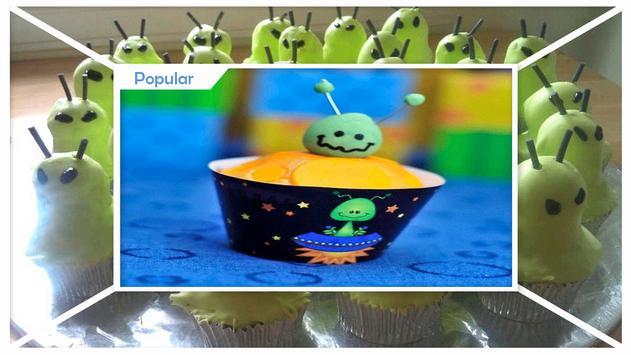 Delicious Alien Cupcakes screenshot 1