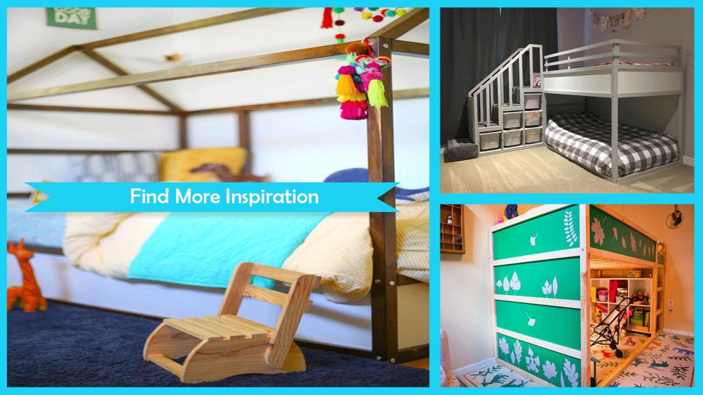 Einfaches DIY IKEA Kura Bett Hack für Android - APK herunterladen