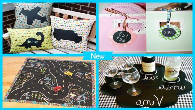 Easy Fabric Chalkboard Placemats screenshot 3