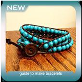 guide to make bracelets icon