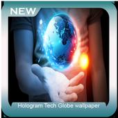 Hologram Tech Globe wallpaper icon