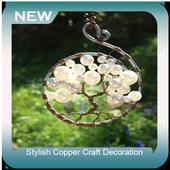 Stylish Copper Craft Decoration icon