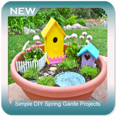 Simple DIY Spring Garde Projects icon