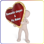 Romantic shayari & Pic Maker icon