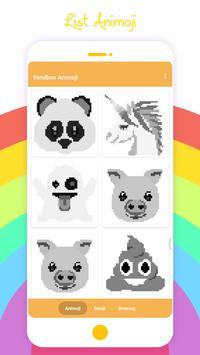 Sandbox Animoji - Coloring Animoji Book screenshot 2