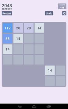 2048 Sandbox screenshot 18
