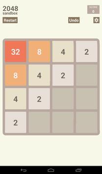 2048 Sandbox screenshot 12