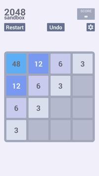 2048 Sandbox screenshot 1