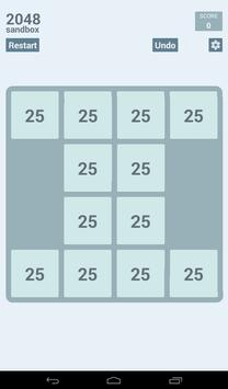2048 Sandbox screenshot 9