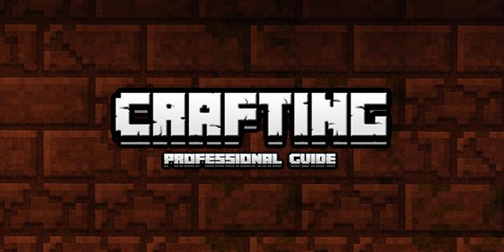 Crafting a Minecraft Guide poster
